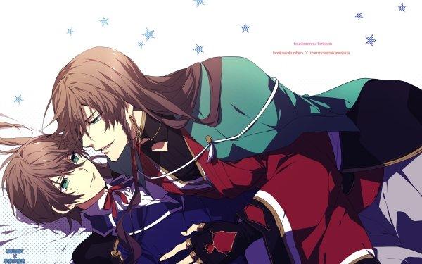 Anime Touken Ranbu Horikawa Kunihiro Izumi no Kami Kanesada HD Wallpaper | Background Image