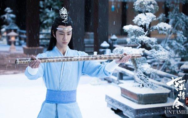 TV Show The Untamed Lan Wangji Lan Zhan Wang Yibo HD Wallpaper   Background Image