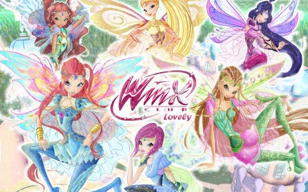 TV Show Winx Club Bloom Musa Aisha Stella Fairy Flora Tecna Logo HD Wallpaper | Background Image