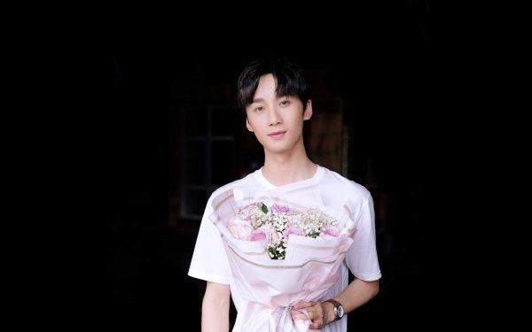 Kändis Li Bo-Wen Skådespelare Kina Flower HD Wallpaper | Background Image