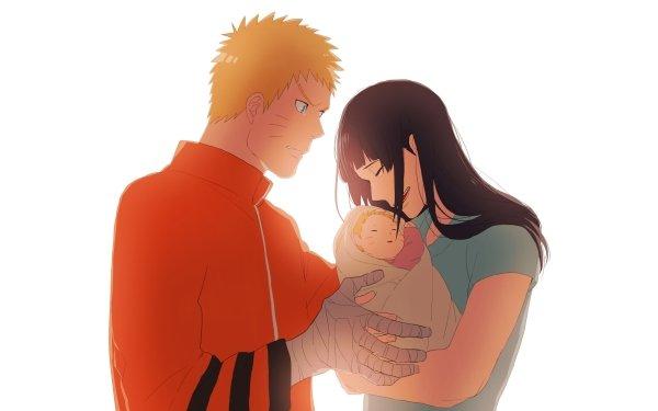 Anime Boruto Naruto Naruto Uzumaki Hinata Hyuga Boruto Uzumaki HD Wallpaper   Background Image