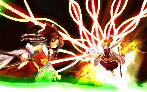 Anime Touhou Reimu Hakurei Shou Toramaru HD Wallpaper | Background Image