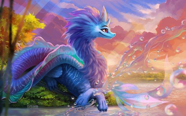 Movie Raya and the Last Dragon Sisu Dragon HD Wallpaper | Background Image