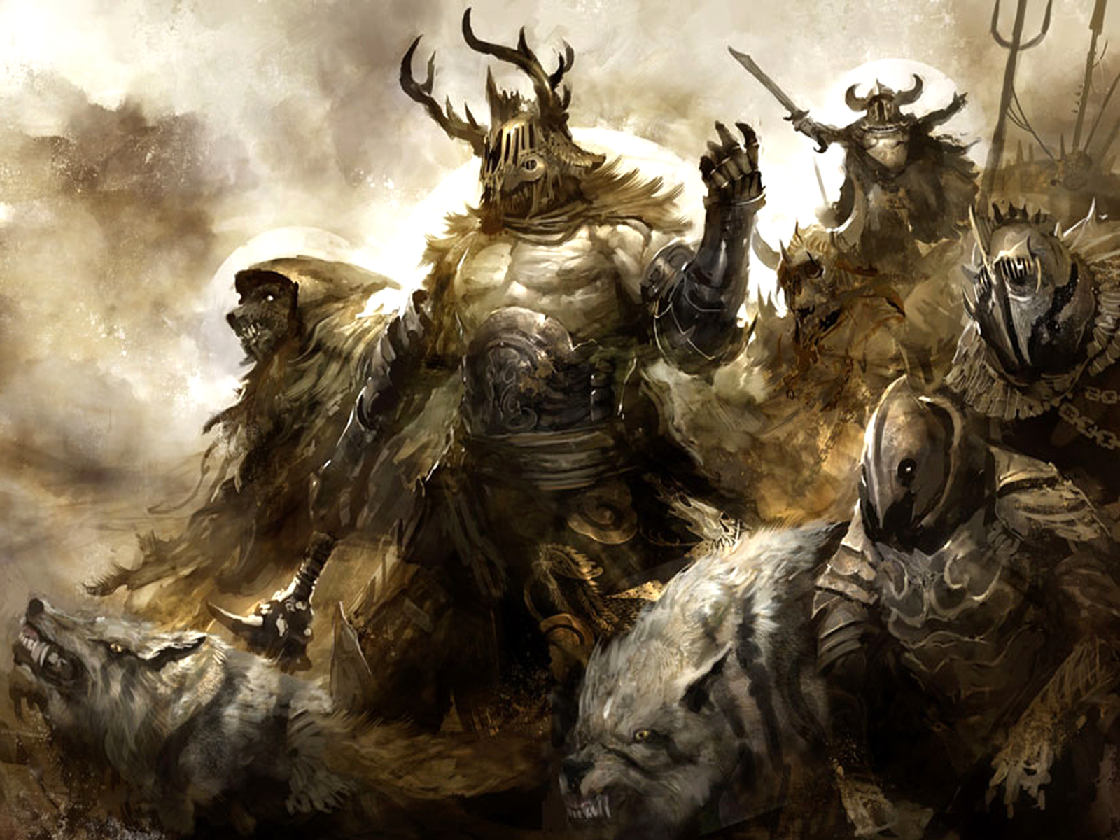 Jeux Vidéo - Guild Wars  - Guild Wars 2 - Guild - Guerres Fond d'écran