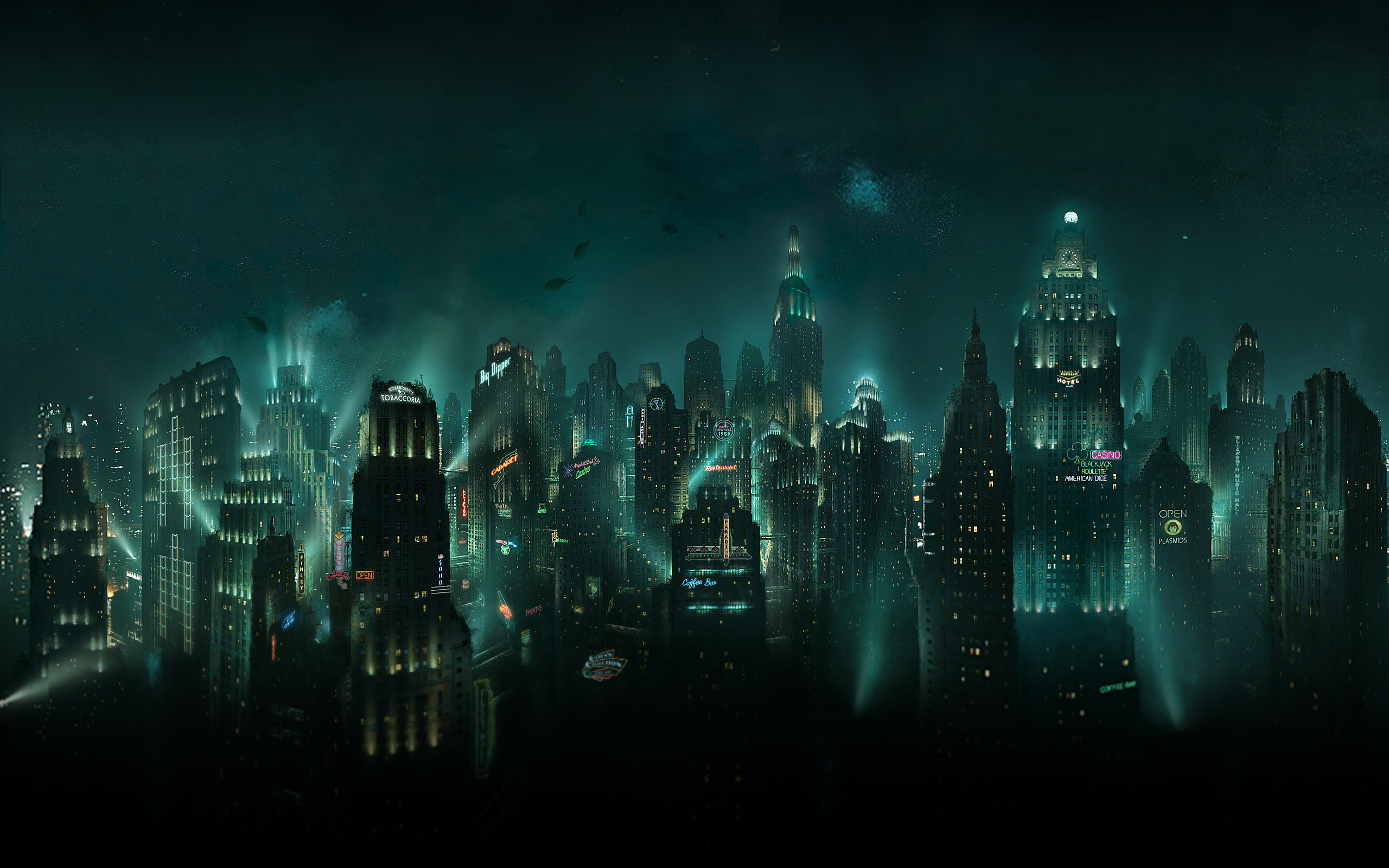 Video Game - Bioshock  - Sci-fi - Rapture  Wallpaper