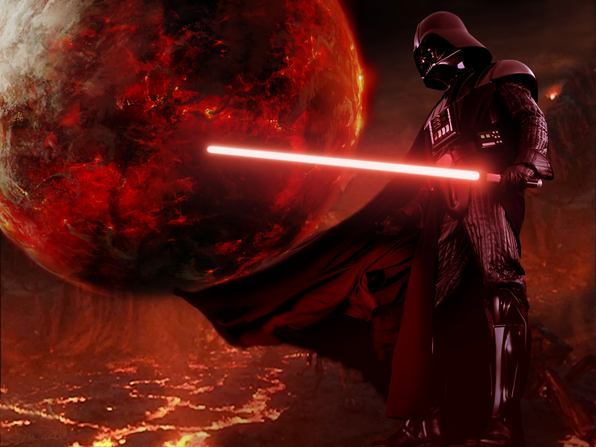 Movie - Star Wars  Darth Vader Movie Wallpaper