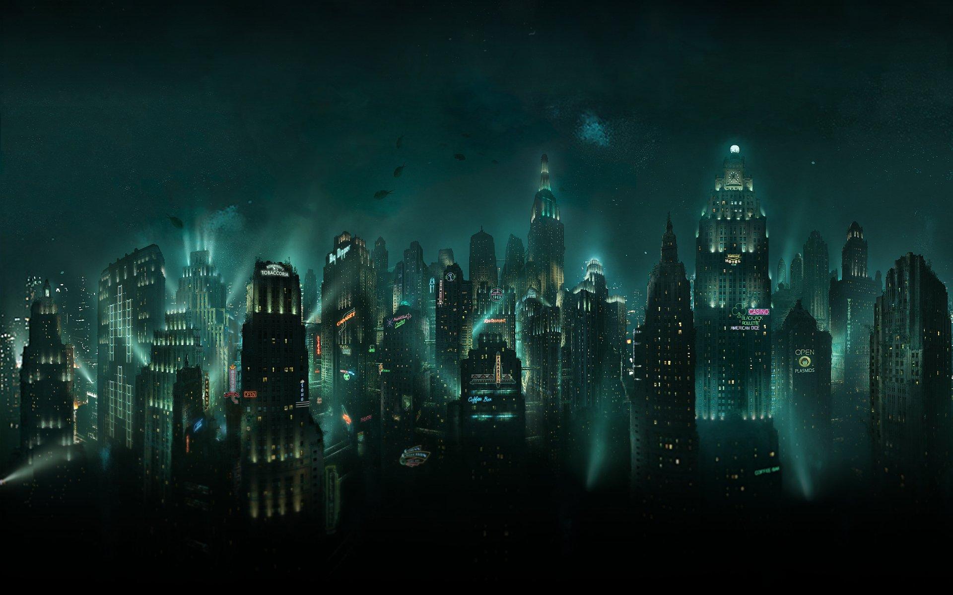 Video Game - Bioshock  Sci Fi Rapture (Bioshock) Wallpaper