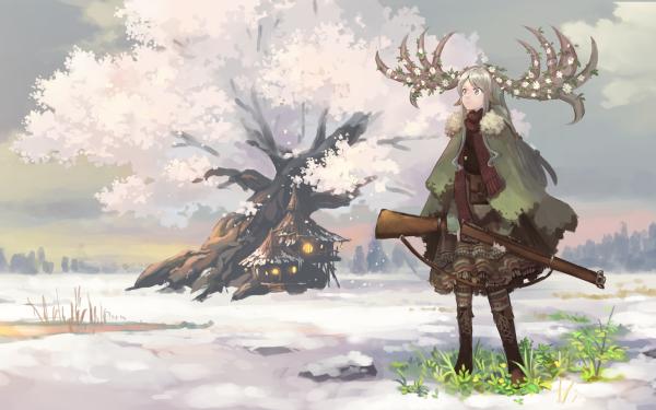 Anime Girl HD Wallpaper   Background Image