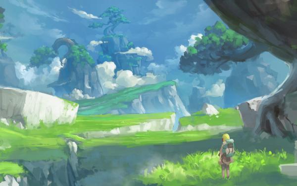 Anime Landscape HD Wallpaper   Background Image