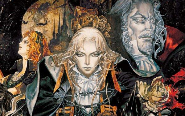 Anime Castlevania Alucard Dracula Lisa Tepes HD Wallpaper | Background Image