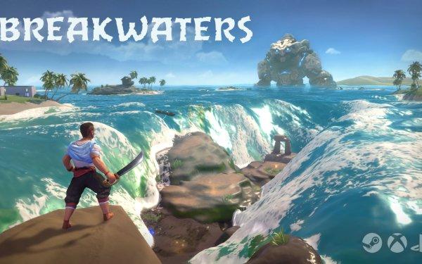 Video Game Breakwaters HD Wallpaper | Background Image