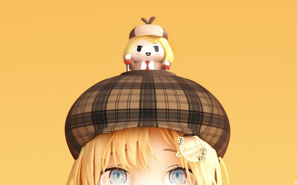 Anime Virtual Youtuber Watson Amelia Hololive HD Wallpaper | Background Image