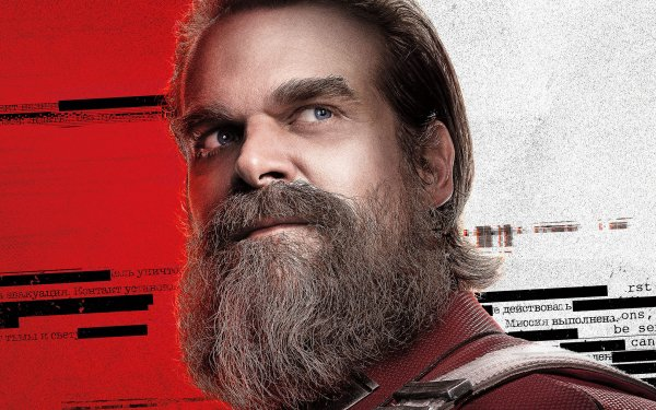 Movie Black Widow David Harbour Red Guardian HD Wallpaper | Background Image