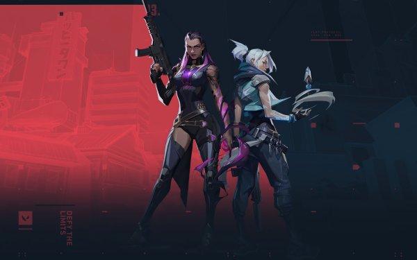 Video Game Valorant Jett Reyna HD Wallpaper   Background Image