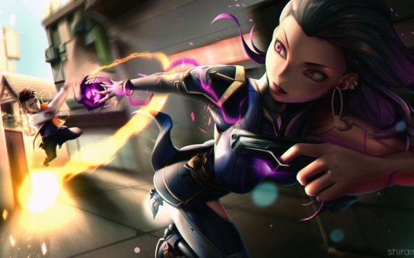 Video Game Valorant Phoenix Reyna HD Wallpaper   Background Image