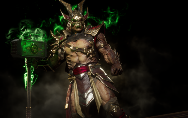 Video Game Mortal Kombat 11 Shao Kahn HD Wallpaper | Background Image