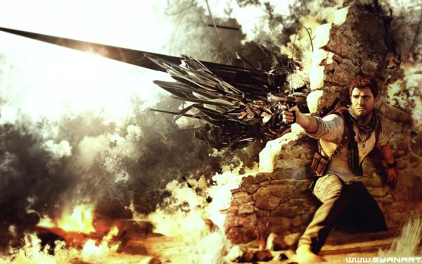 Video Game Uncharted 3: Drake's Deception Uncharted Nathan Drake HD Wallpaper | Background Image