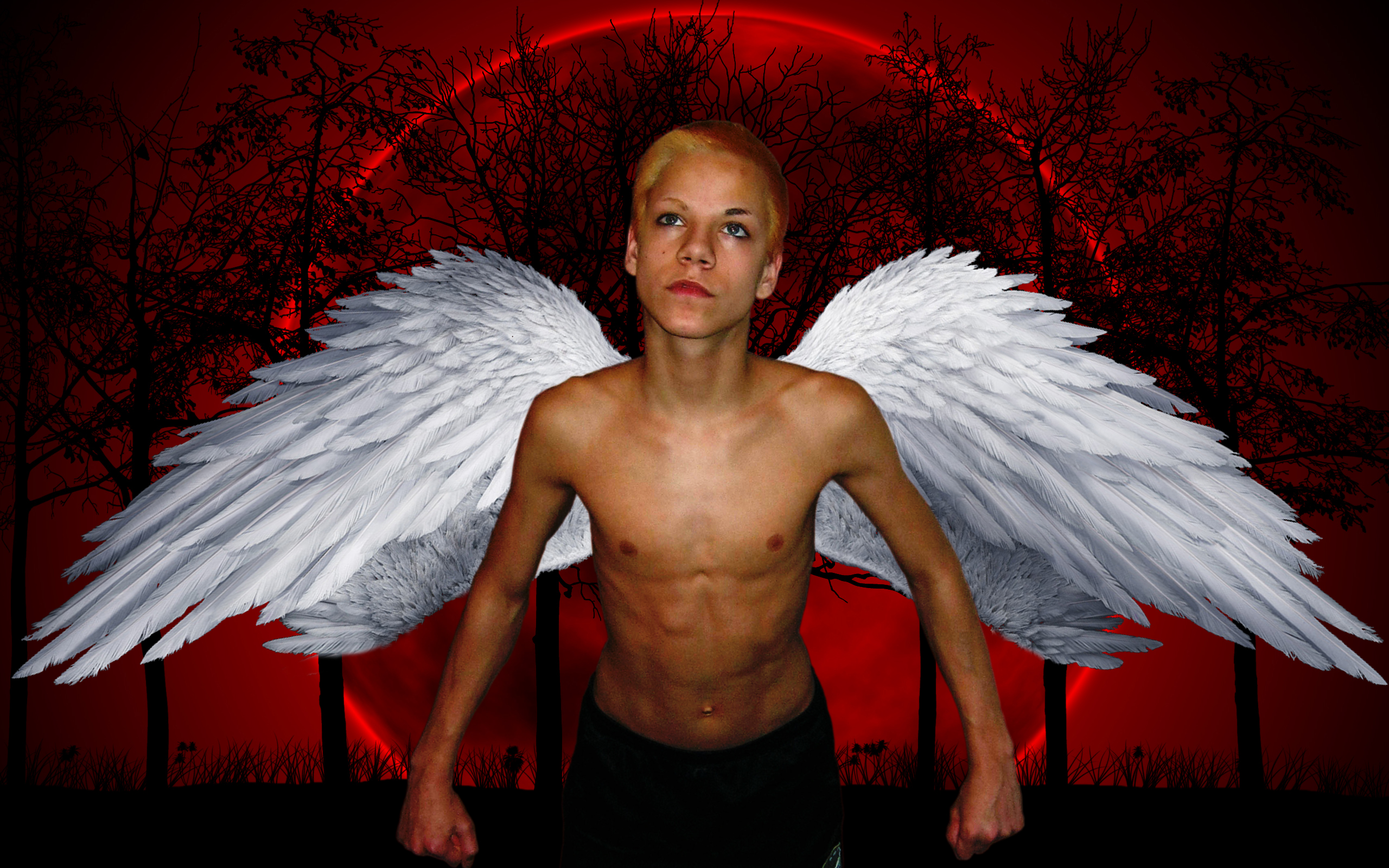 Alpha coders wallpaper abyss fantasy angel 115145