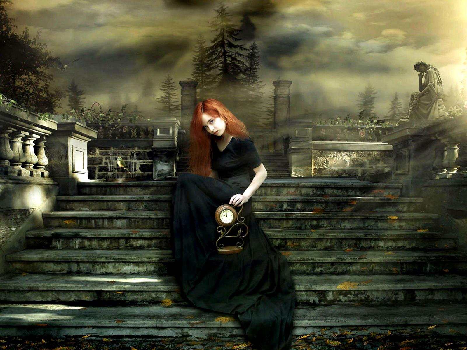 Mörk - Gothic  Bakgrund