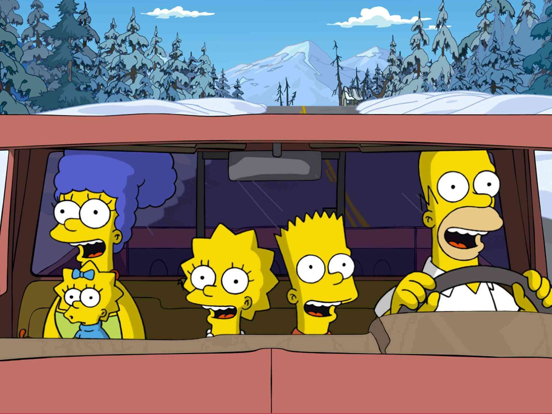 The simpsons full hd wallpaper and background image for Inside 2007 movie online free