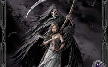 Grim Reaper HD Wallpaper