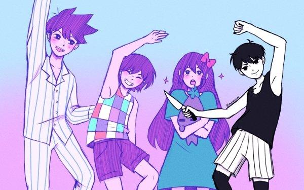 Video Game OMORI Omori Aubrey Kel Hero Boy Girl HD Wallpaper | Background Image