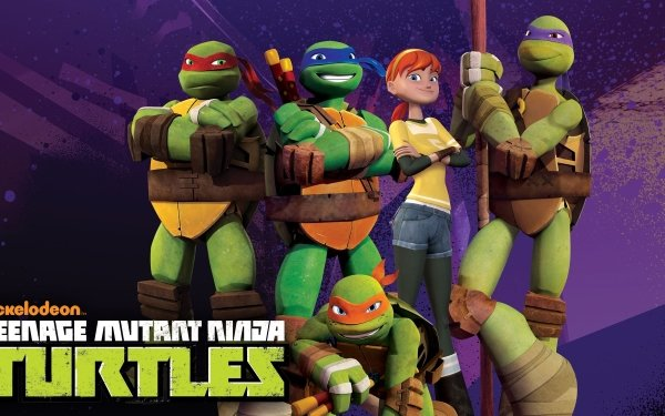 TV Show Teenage Mutant Ninja Turtles Raphael Donatello Leonardo Michelangelo HD Wallpaper | Background Image