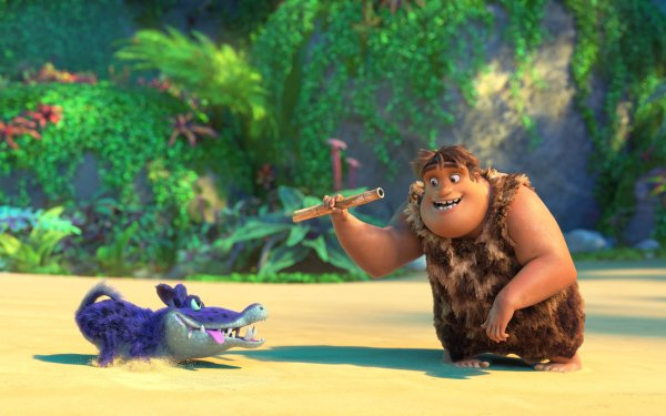 Movie The Croods: A New Age Thunk HD Wallpaper   Background Image