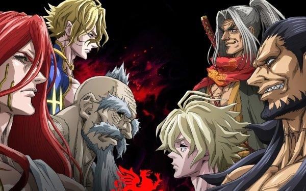 Anime Record of Ragnarok Thor Zeus Poseidon Adam Lu Bu Kojiro Sasaki HD Wallpaper | Background Image