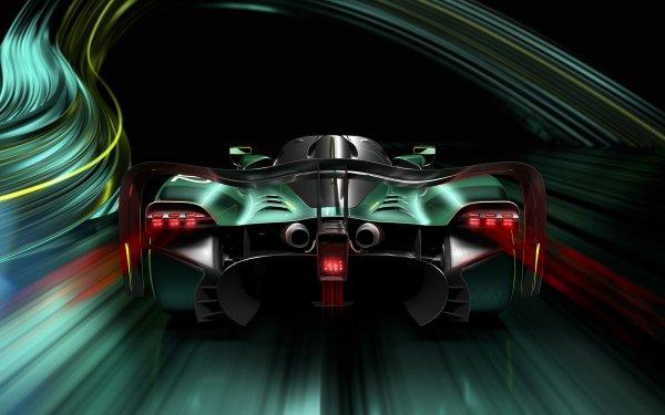 Vehicles Aston Martin Valkyrie Aston Martin Car Green Car Sport Car Supercar HD Wallpaper | Background Image