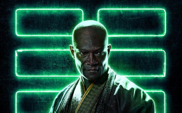 Movie Snake Eyes: G.I. Joe Origins Peter Mensah Blind Master HD Wallpaper | Background Image