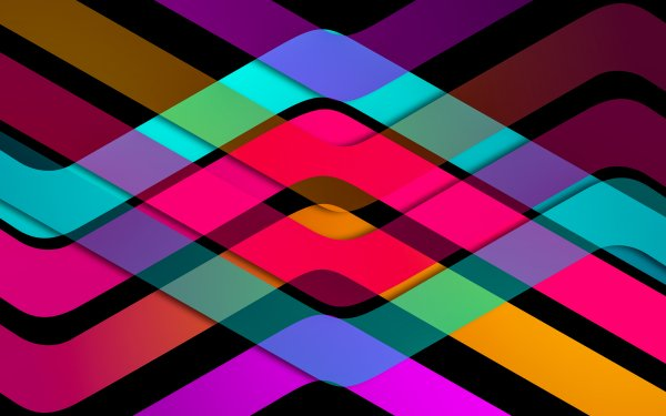 Artistic Lines Colorful HD Wallpaper | Background Image