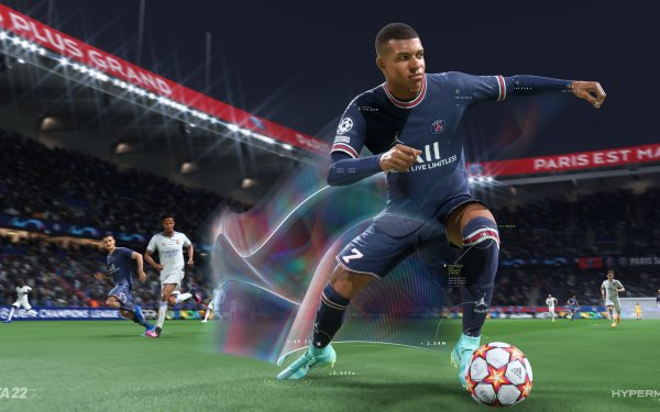Video Game FIFA 22 Kylian Mbappé HD Wallpaper | Background Image