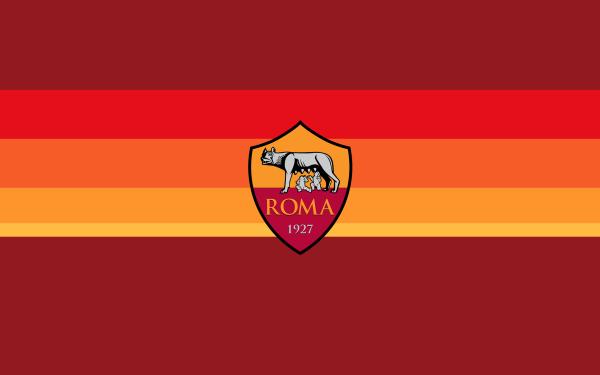 Sports A.S. Roma Soccer Club Logo Emblem Crest Symbol HD Wallpaper | Background Image