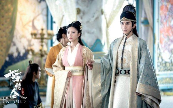 TV Show The Untamed Jin Guangyao Zhu Zanjin HD Wallpaper   Background Image