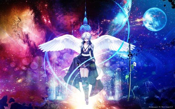 Anime Touhou Sakuya Izayoi HD Wallpaper | Background Image