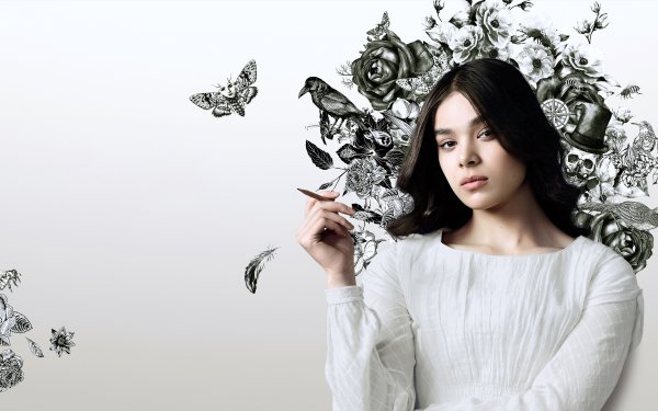 TV Show Dickinson Hailee Steinfeld American Actress HD Wallpaper | Background Image