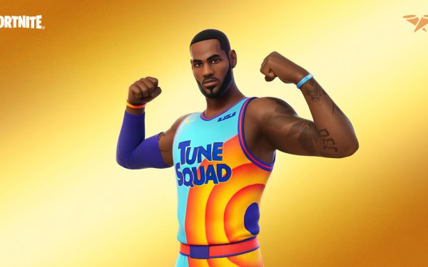 Video Game Fortnite LeBron James Space Jam: A New Legacy HD Wallpaper | Background Image