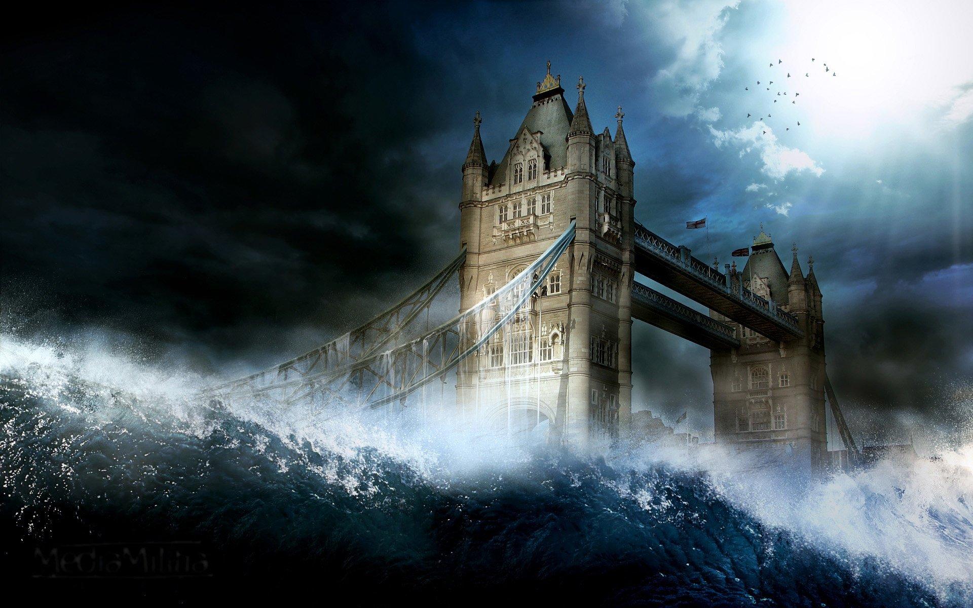Science-Fiction - Apokalyptisch  Wallpaper