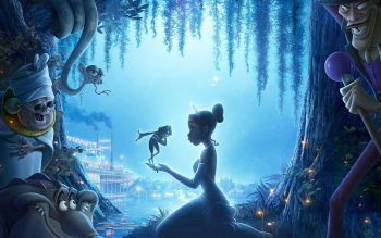 Caricatura - The Princess And The Frog Wallpapers and Backgrounds ID : 116805