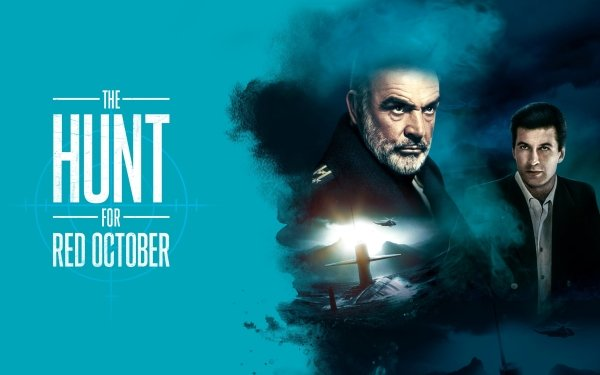 Movie The Hunt for Red October Sean Connery Alec Baldwin Marko Ramius Jack Ryan HD Wallpaper | Background Image
