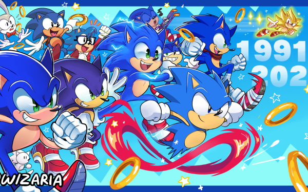Video Game Sonic the Hedgehog Sonic Classic Sonic Super Sonic Boom Sonic HD Wallpaper | Background Image