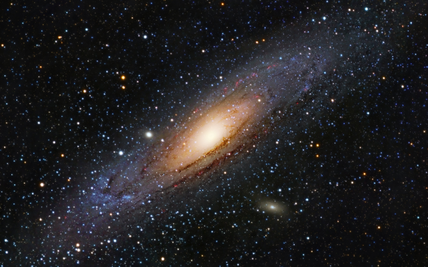 Sci Fi Galaxy Andromeda Galaxy HD Wallpaper   Background Image