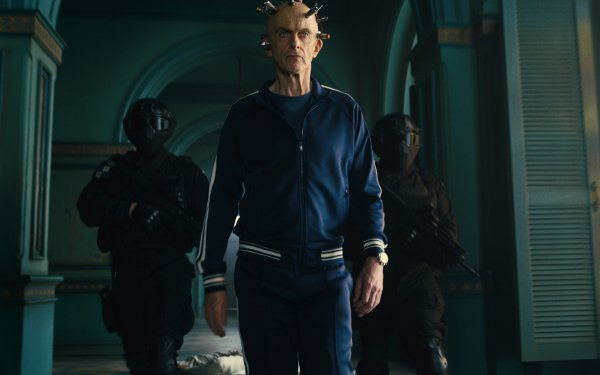 Movie The Suicide Squad Peter Capaldi Thinker HD Wallpaper | Background Image