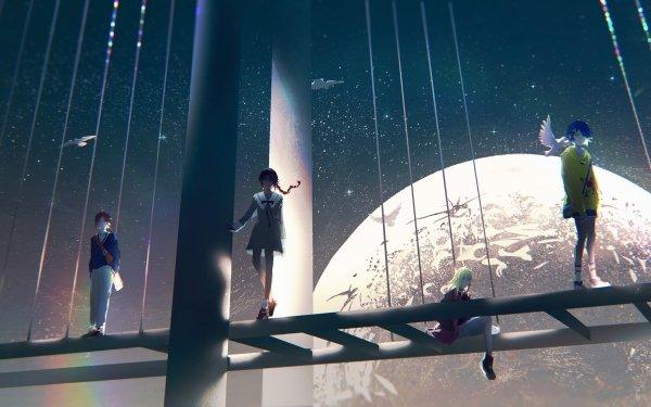 Anime Wonder Egg Priority Neiru Aonuma Rika Kawai Ai Ohto Momoe Sawaki HD Wallpaper | Background Image