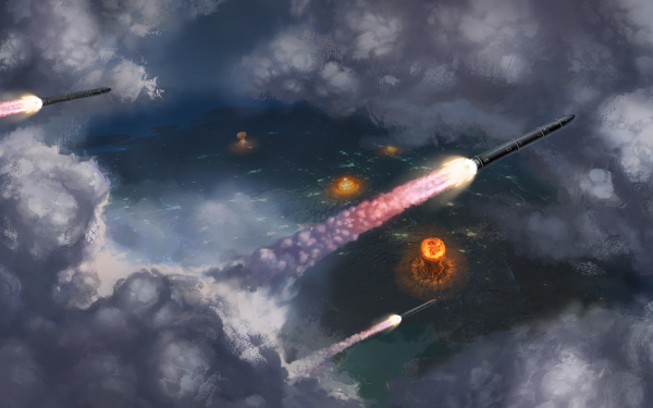 Video Game ATOM RPG Nuclear Bomb Nuclear Explosion Mushroom Cloud HD Wallpaper | Background Image