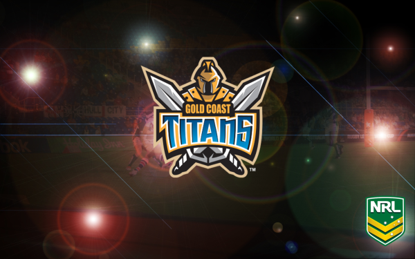 Sports Gold Coast Titans Rugby National Rugby League NRL Logo HD Wallpaper | Background Image