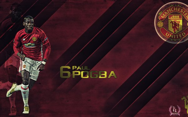 Sports Paul Pogba Soccer Player Manchester United F.C. HD Wallpaper | Background Image