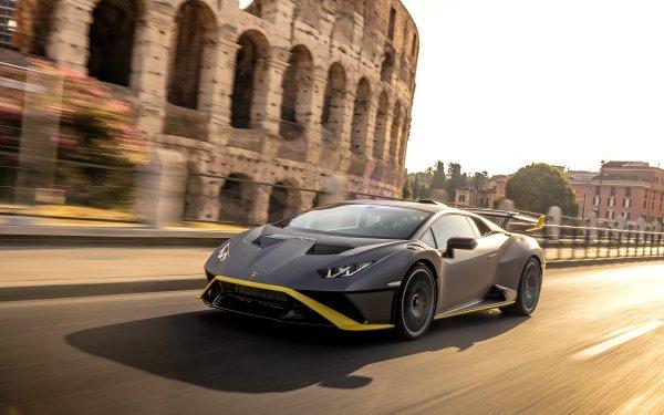 Vehicles Lamborghini Huracán STO Lamborghini Supercar HD Wallpaper   Background Image
