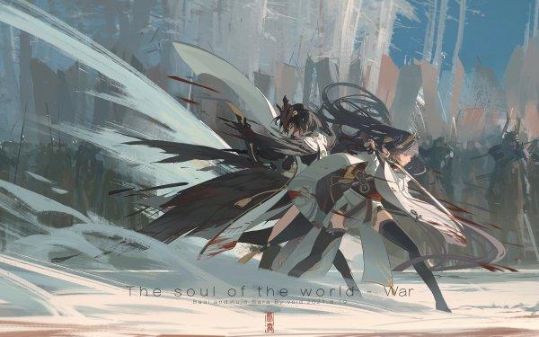 Videospel Genshin Impact Kujou Sara Baal Raiden Shogun HD Wallpaper | Achtergrond